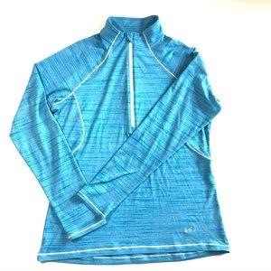 Under Armour Pullover 1/4 Zip Blue Lightweight